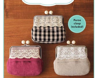 Bauble Clasp Purse Kit by World Book Media, Includes Purse Frame