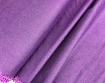 Plum Peppered Cotton from Studio E Fabrics, Shot Cotton, Purple Peppered Cotton