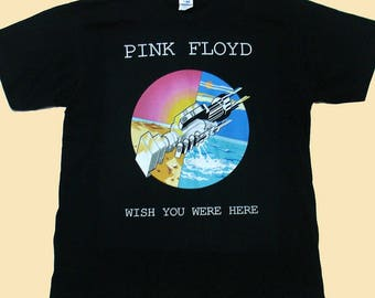 Pink Floyd Wish You Were Here, T-shirt 100% Cotton