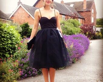 Bridal skirt, Handmade net tutu skirt, perfect bridesmaid skirt, bridal looks