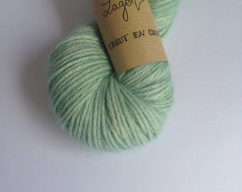 Lagoon - Skein of wool Alpaca hand dyed