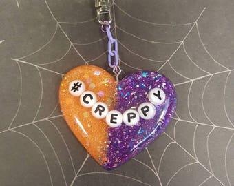 Creppy Halloween Keychain