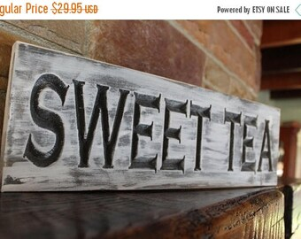 fixer upper decor, sweet tea sign, farmhouse kitchen, rustic kitchen decor, rustic kitchen sign, fixer upper sign, fixer upper style