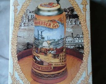 1991 Edition Anheuser Busch Classic Stein New  in Box