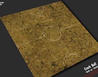 Battle mat: Crack Ball - Guild Ball game board, table map scenery for fantasy football boardgame terrain