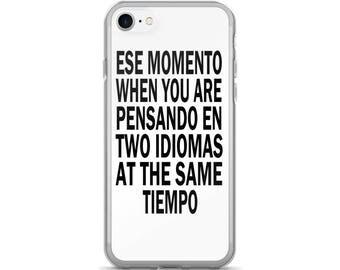 iPhone 5/5s/SE | iPhone 6/6s | iPhone 6 Plus/6s Plus | iPhone 7 | iPhone 7 Plus | Spanish/English Bilingual iPhone Case