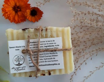 Handmade natural soap with FRAGRANCE