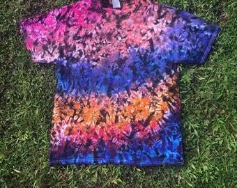 Cotton Candy Crunch Tie Dye Tshirt