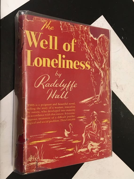 The Well of Loneliness by Radclyffe Hall with Commentary by Havelock Ellis (Hardcover, 1928) vintage book