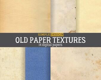 Old digital paper, Digital paper, Paper texture, Digital paper pack, Printable paper, Old paper texture, Vintage paper, Paper background.