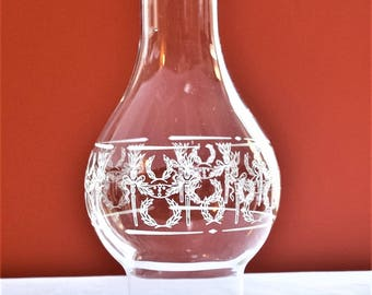 Clear Glass Oil lamp Chimney