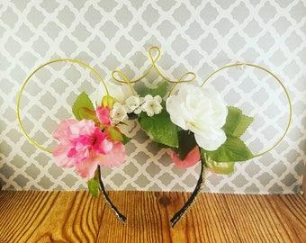 Floral Princess Mouse Ears
