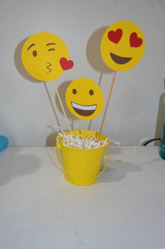 Emoji Party Centerpieces Birthday Wikii