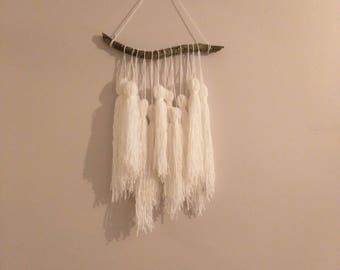 Custom Large Woollen Tassel Wall Hanging