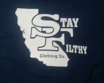SF logo Stay Filthy Clothing co.