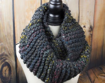 Oversized Scarf/Chunky Knit Yarn/Hooded Cowl/Hooded Scarf/Girlfriend Gift/Gifts for Her/Infinity Scarves/Scarf/Gift for Sister/Cowl/Gift
