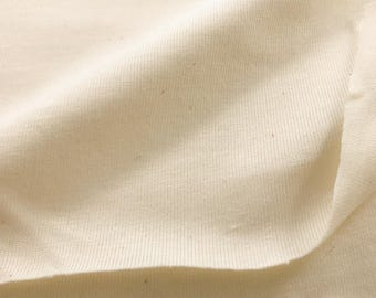 100% Organic Cotton Jersey Knit Fabric