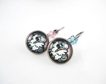 Kawaii - Unicorn pony earrings