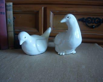 Ceramic Doves (pair)