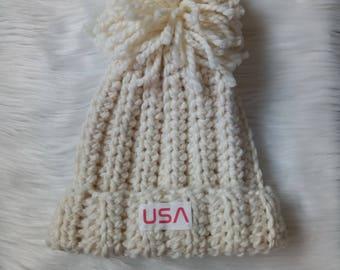 Olympic hat-snow boarding hat- , Chloe kim hat inspired