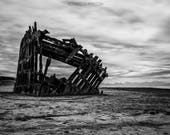 Wreck of the Peter Iredale - Landscape Photography Print - Oregon Coast - Astoria - Ricky Davis