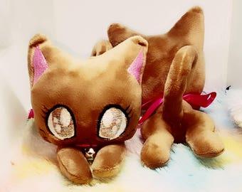 Brown Cat Plush