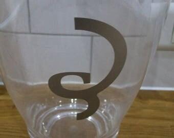 Billecart-Salmon Champagne Ice Bucket // Champagne Bucket // Champagne Ice Bucket