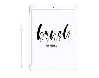 "Procreate Brush ""Kate"" for iPad Lettering"