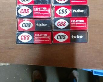 Cbs hytron 6j6 vacuum tube new in box