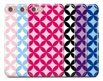 iPhone Case, iPhone 7 Case, iPhone 7 Plus Case, iPhone 6S Case, iPhone 6, Samsung Galaxy Case, Galaxy S8 Case, S8+, Star Circle Dot Pattern