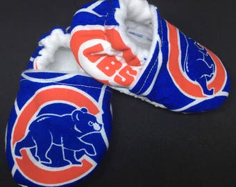 Chicago Cubs Crib Shoes / Slippers