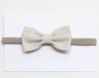 Hair Bows for Girls - Ivory - Hair Bows - Clips or headbands