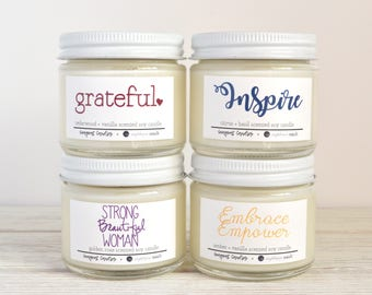 Gift Set of 4 Candles