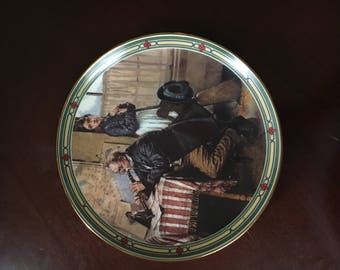 Norman Rockwell American Dream the musicians magic 6 Collector Plate Knowles
