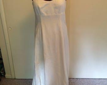 Hippie, Boho, Eco, Hemp Silk Wedding dress
