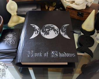 Book of Shadows,Notebook - Triple Moon, Goddess