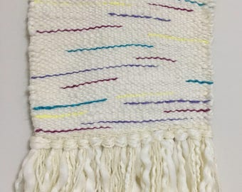CONFETTI - handwoven wall hanging
