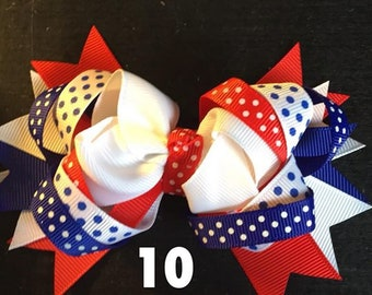 Girls Hair Bows, Sold as is