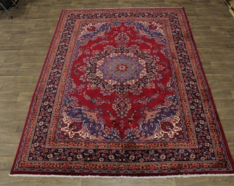 Great Shape Traditional Design Sabzevar Persian Rug Oriental Area Carpet 8X12
