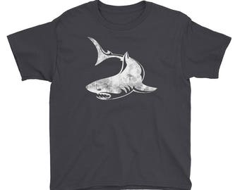 Kids Shark Shirt, Shark Shirt, Shark, Kids, Shark Birthday, Shirt, Boys Shirt, Tshirt, Sharks, Shark T Shirt, Great White Shark, T-shirt