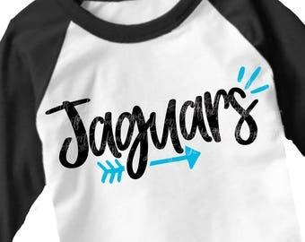 Jaguars svg, SVG, DxF, EpS, arrow svg, Jaguars, shortsandlemons, Jaguar, football svg, football sister, football mom svg, transfer, clip art