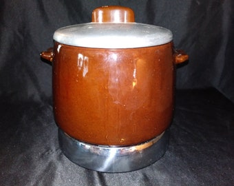 Vintage WEST BEND Heat Rite Electric Bean Pot #3295E