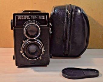 """The camera """"Lubitel  166 V"""". USSR. Lomo"""