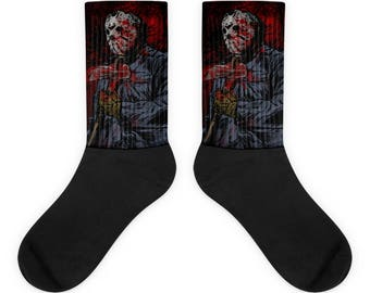 Friday The 13th Jason Socks