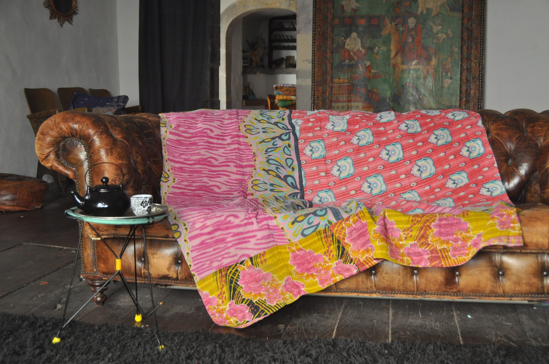 Bouti Jeté De Lit Ou Couvre Lit Bed-spread Bedcover Boheme