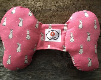 Pink cushion pillow elephant ears for Easter Bunny baby car seat