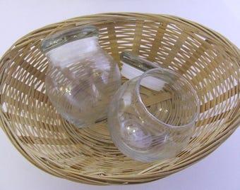Bean Pot, Glass - (Clear) - 140g