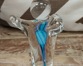 Because of You Mini Glass Sculpture.