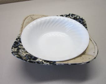 Microwave Bowl Cozy - Set of 2 Microwave Bowl Cozies - Microwave Potholder