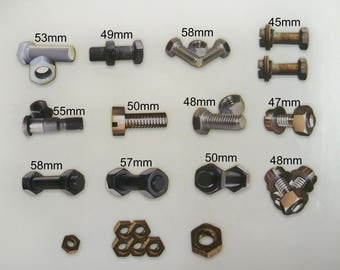 Nuts & Bolts (Bag of Bolts 15 in pack)